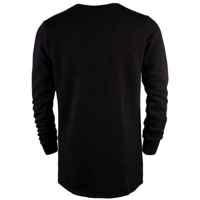 Hyper X - Checked Siyah Sweatshirt