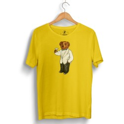 The Street Design - HH - Street Design Cheers Bear Sarı T-shirt