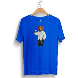 The Street Design - HH - Street Design Cheers Bear Mavi T-shirt