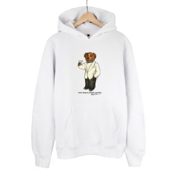 The Street Design - HH - Street Design Cheers Bear Turuncu Hoodie
