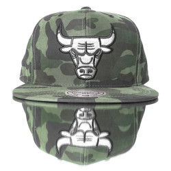 HollyHood - Chicago Bulls Camouflage Snapback Cap