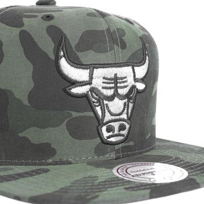 Chicago Bulls Camouflage Snapback Cap