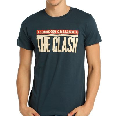 Bant Giyim - Clash London Calling Füme T-shirt