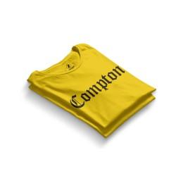 HH - Compton Sarı T-shirt - Thumbnail