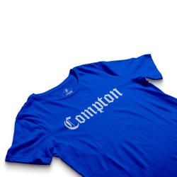 HollyHood - HH - Compton Mavi T-shirt (1)