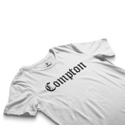 HH - Compton Beyaz T-shirt - Thumbnail