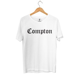 HollyHood - HH - Compton Beyaz T-shirt