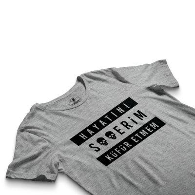 HH - Contra Hayatını S**erim Küfür Etmem Gri T-shirt
