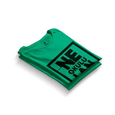 HH - Contra Ne Okulu Lan Yeşil T-shirt