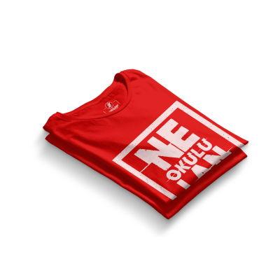 HH - Contra Ne Okulu Lan Kırmızı T-shirt