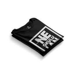 HH - Contra Ne Okulu Lan Siyah T-shirt - Thumbnail