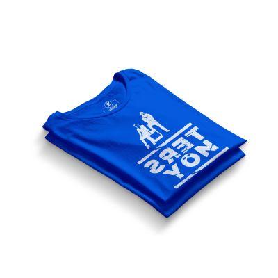 HH - Contra Ters Yön Mavi T-shirt