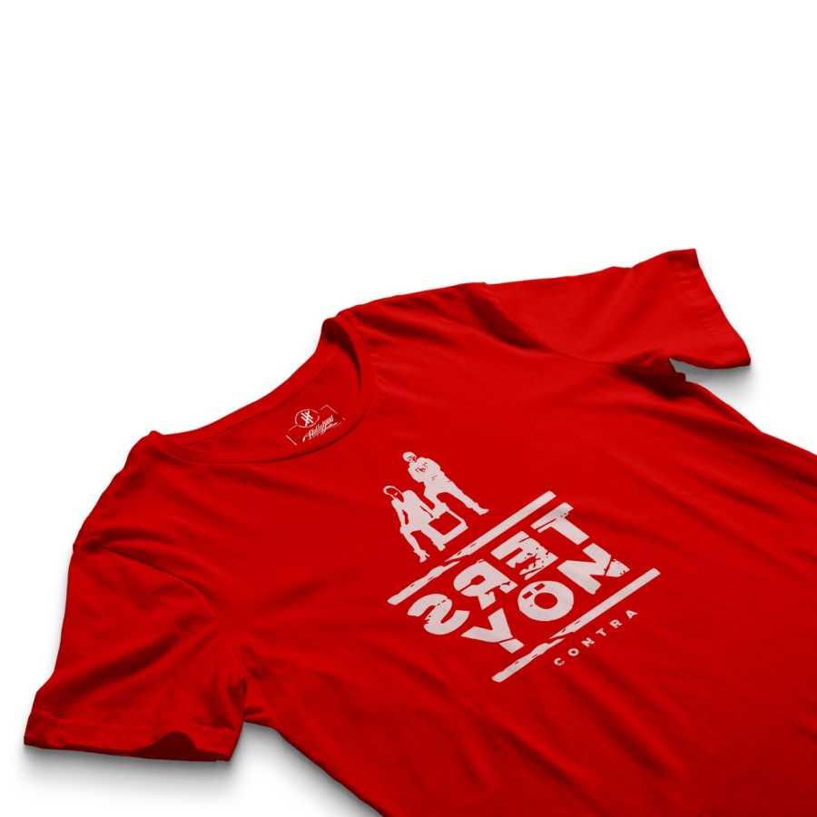 HH - Contra Ters Yön Kırmızı T-shirt