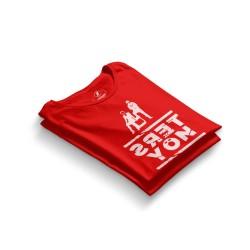 HH - Contra Ters Yön Kırmızı T-shirt - Thumbnail