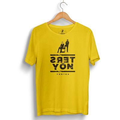 Contra - HH - Contra Ters Yön Sarı T-shirt