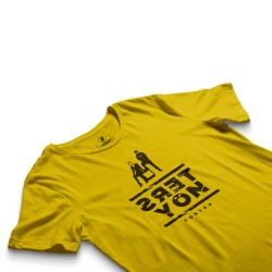 HH - Contra Ters Yön Sarı T-shirt - Thumbnail