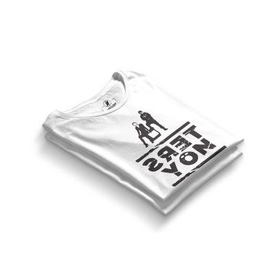HH - Contra Ters Yön Beyaz T-shirt