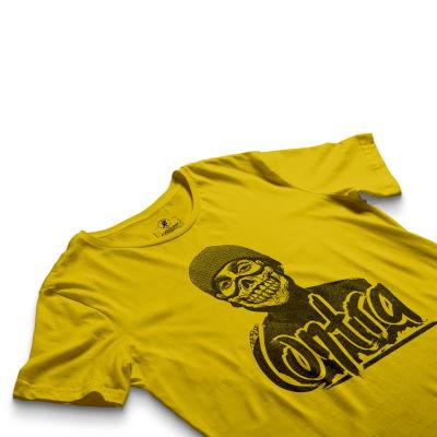 HH - Contra Portre Sarı T-shirt