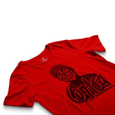 HH - Contra Portre Kırmızı T-shirt