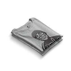 HH - Contra Portre Gri T-shirt - Thumbnail