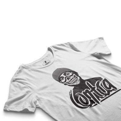 HH - Contra Portre Beyaz T-shirt