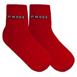 HollyHood - Amore Kırmızı Çorap