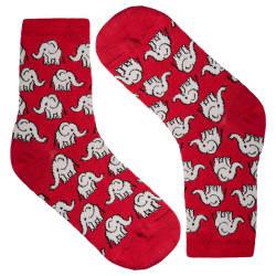 HollyHood - Elephant Kırmızı Çorap