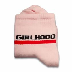 HollyHood - Girl Hood Pembe Çorap