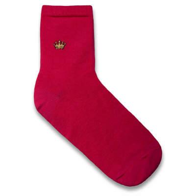HollyHood - Crown Pembe Çorap