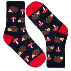 HollyHood - Kirpi Siyah Çorap