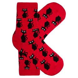 HollyHood - Kedili Kırmızı Çorap