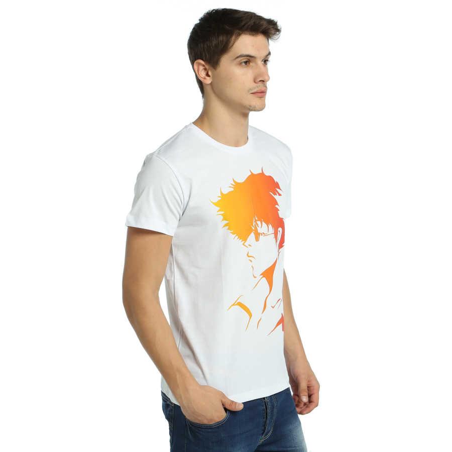 Bant Giyim - Cowboy Bebop Spike Beyaz T-shirt