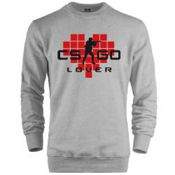 HH - CS:GO Kırmızı Lover Sweatshirt - Thumbnail