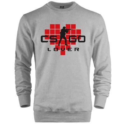 CS:GO - HH - CS:GO Kırmızı Lover Sweatshirt
