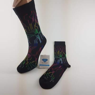 Cyborg Siyah Çorap