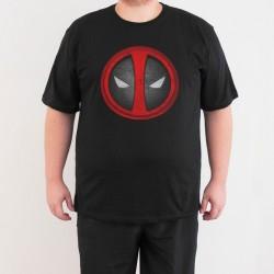 Bant Giyim - Bant Giyim - Deadpool 4XL Siyah Erkek T-shirt
