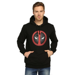 Bant Giyim - Bant Giyim - Deadpool Siyah Hoodie