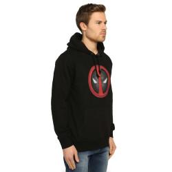 Bant Giyim - Deadpool Siyah Hoodie - Thumbnail