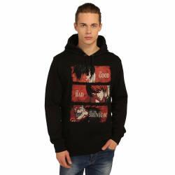 Bant Giyim - Death Note Siyah Hoodie - Thumbnail