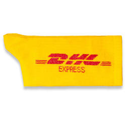 HollyHood - DHL Express Sarı Çorap