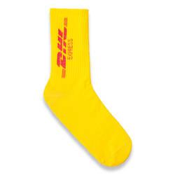 DHL Express Sarı Çorap - Thumbnail