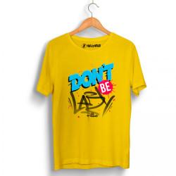 High - HH - High Don′t Be Sarı T-shirt