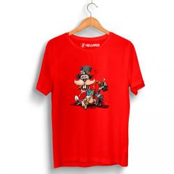 High - HH - High Drunk Rabbit Kırmızı T-shirt