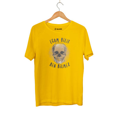HH - Contra Egom Bilir Ben Bilmez Sarı T-shirt
