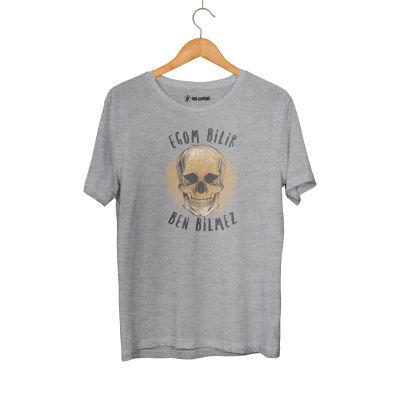 HH - Contra Egom Bilir Ben Bilmez Gri T-shirt