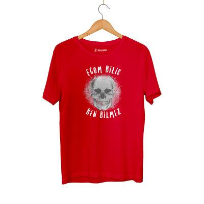 HH - Contra Egom Bilir Ben Bilmez Kırmızı T-shirt