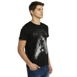 Bant Giyim - Elder Scrolls Skyrim Siyah T-shirt - Thumbnail