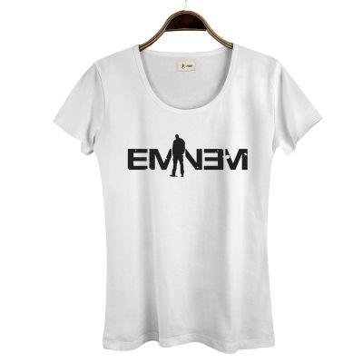 HH - Eminem LP Kadın Beyaz T-shirt