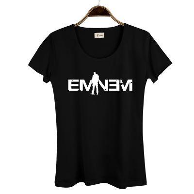HH - Eminem LP Kadın Siyah T-shirt