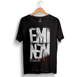 Groove Street - HollyHood - Eminem Recovery Siyah T-shirt